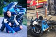 FOTO/VIDEO - Sonia este în stare CRITICĂ, după ce a fost implicată într-un accident moto pe strada Pavlov