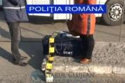VIDEO - Femeie din Ucraina, prinsă la Cluj-Napoca cu două genți de voiaj ticsite cu țigări de contrabandă