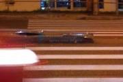 FOTO - ATENȚIE LA PIETONI! Un indicator de pe mijlocul șoselei a fost rupt în Cluj-Napoca