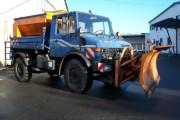 Prefectul Clujului a verificat cum stăm cu utilajele și materialele de deszăpezire. Concluzia: NU avem