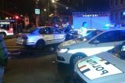 UPDATE - FOTO - Accident teribil în fața Prefecturii Cluj! O tânără din Mărgău a trecut pe ROȘU la semafor