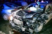 VIDEO - Accident la Gherla! 10 mașini distruse într-o clipă de un teribilist de 19 ani. A fost la un pas de a fi bătut de părinți