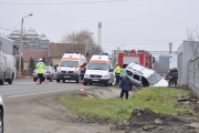 FOTO - Accident mortal la Câmpia Turzii