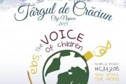 Peste 1.200 de copii din Cluj-Napoca și alte alte nouă țări cânta în sincron live un colind a capella pe cinci voci în cea de a zecea zi a Târgului de Crăciun din Cluj-Napoca