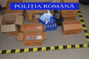 Percheziții în Cluj și alte județe într-un dosar de contrabandă cu țigarete și articole pirotehnice