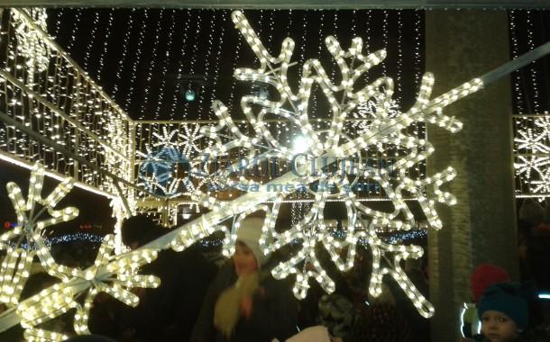 Cum va arăta Cluj-Napoca de Crăciun și Revelion. Iluminatul festiv, în cifre și culori