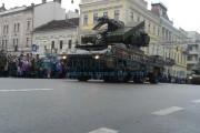 FOTO/VIDEO - Paradă militară impresionantă la Cluj-Napoca de Ziua Națională a României. Sute de persoane au fost în Piața Avram Iancu