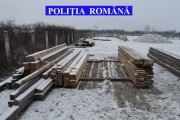 FOTO - Cherestea confiscată din Cășeiu