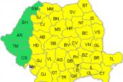 România se află, în mare parte, timp de 5 zile, sub COD GALBEN DE GER. Cât de frig va fi