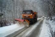Polei pe unele sectoare de drum din județul Cluj