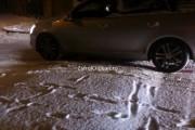 VIDEO - Imagini ȘOC  de pe strada  Louis Pasteur! O mașină alunecă necontrolat pe gheață