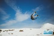 FOTO - SNOWPARK, la 10 minute de Cluj-Napoca, pentru iubitorii de  snowboarding