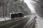 UPDATE - Trafic întrerupt pe un drum din județul Cluj, din cauza unui TIR