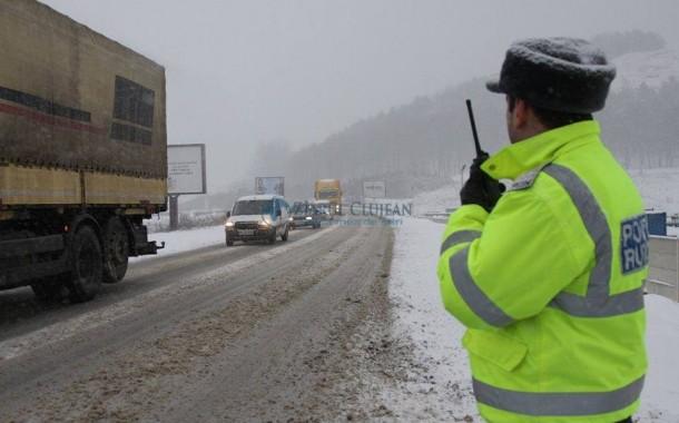 Zăpada creează probleme în țară