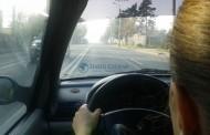 """Șoferiță beată """"turtă"""", prinsă în trafic la Câmpia Turzii"""