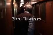 EXCLUSIV VIDEO - Imagini de coșmar într-un tren: