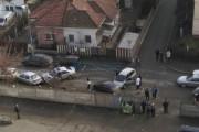 FOTO - O șoferiță a făcut prăpăd pe strada Teleorman. Două persoane au ajuns la spital