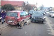 FOTO - Accident pe Calea Baciului din cauza unui șofer aerian. Îți pui mâinile în cap dacă vezi ce a vrut să facă