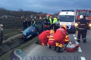 VIDEO - Accident MORTAL pe un drum din județul Cluj