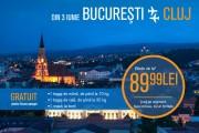 Se încinge lupta! Blue Air lansează zboruri București-Cluj, pe lângă Wizz Air și Tarom. Care vor fi prețurile
