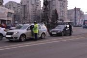 FOTO - Polițiștii de la rutieră, razie fără amenzi