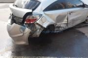 FOTO - Carambol pe Calea Dorobanților, 5 mașini implicate dintre care la două le-au zburat roțile