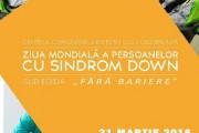 Ziua mondială a persoanelor cu sindrom Down, la DGASPC Cluj. Care este programul
