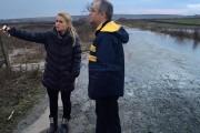 FOTO - INUNDAŢII în Cluj-Napoca! Emil Boc, intervenţie de urgenţă în zona Sopor