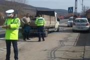 FOTO – Atenție șoferi! Polițiștii din Cluj efectuează zilele acestea multiple filtre pe șoselele județului