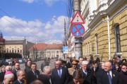 FOTO - Vineri avut loc aniversarea unui deceniu de la reînfiinţarea Mitropoliei Clujului