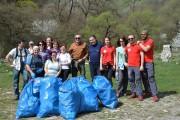 Consiliul Judeţean Cluj, acţiune de ecologizare în Cheile Turzii