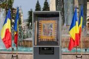 FOTO - Steagul de luptă al lui Avram Iancu, expus în centrul Clujului. Când poate fi văzut