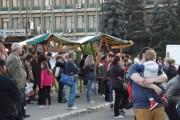"""FOTO - Zalăul sub """"ocupaţia"""" clujenilor la Târgul Produs de Cluj"""