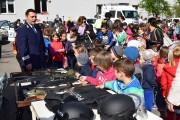 """FOTO - ,,Ziua Porţilor Deschise"""" la IPJ Cluj în programul Școala Altfel și ore de educație rutieră în Salina Turda"""