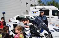 """IPJ Cluj lansează caravana """"Fii polițist pentru o zi"""". În ce orașe ajunge"""