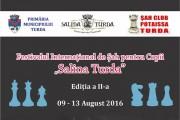 """Ediţia a II – a a Festivalului Internaţional de Şah pentru copii """"Salina Turda"""""""