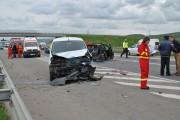 Accident grav între Gilău și Florești! Un TIR a făcut prăpăd pe șosea, trei oameni au ajuns la spital