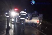 VIDEO - Tragedie în noaptea de Înviere. Doi tineri din Cluj au murit într-un accident și alți patru au fost răniți