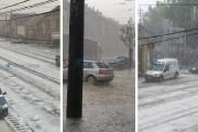 VIDEO/FOTO - Imagini din Florești și mai multe zone din Cluj-Napoca, unde ploaia și grindina au făcut prăpăd