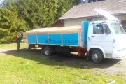 Sălăjean prins în Poieni cu un camion de grinzi fără acte