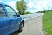 Mașină furată de un șofer beat și drogat. Ce au găsit polițiștii în autoturism