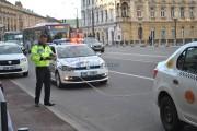 Razie a polițiștilor în traficul clujean
