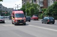 Copil de 2 ani, accidentat în Florești