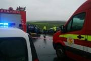 UPDATE - FOTO/VIDEO - Accident mortal între Copăceni și Tureni!  Trei oameni au decedat pe loc