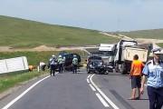 FOTO - Accident grav la Stejăriș, lângă Turda! Un mort, patru răniți grav și doi răniți ușor