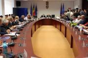 FOTO - Alin Tișe, prima conferință de presă după ce a fost ales președinte al Consiliului Județean Cluj. Ce subiecte a abordat
