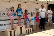 FOTO - Cupa Salina Turda la Înot – ediția 3, una de succes cu recorduri ale micilor înotători. Lista câștigătorilor