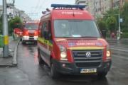 FOTO - Incendiu la un apartament din Mănăștur
