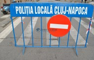 Câteva zile cu restricții rutiere în centrul Clujului