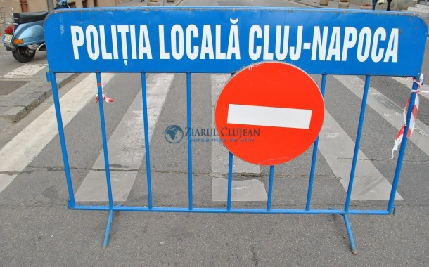 Două zile cu restricții de circulație în Cluj-Napoca